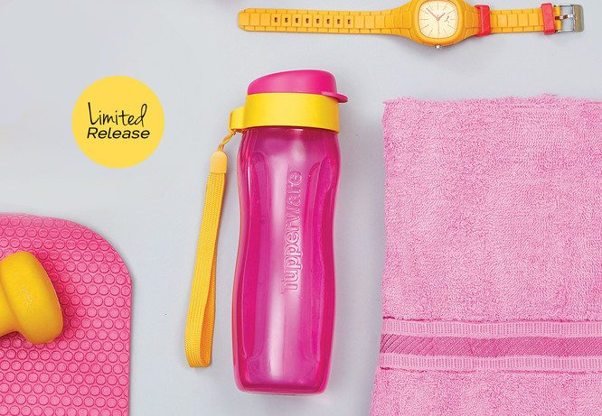 Tupperware Fashion Eco Bottle 500ml - Pink