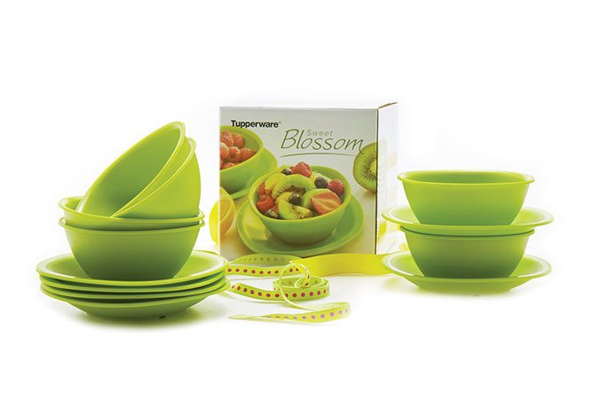 Tupperware Sweet Blossom