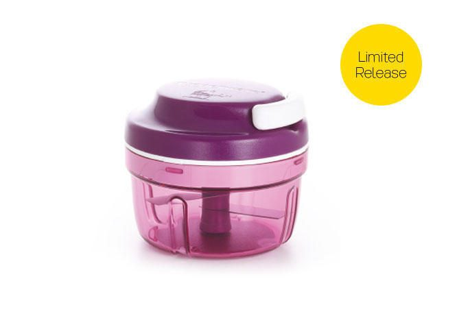 Tupperware Turbo Chopper Purple