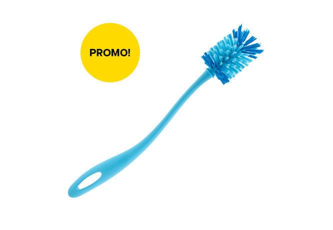 Eco Bottle Brush (1) - Biru