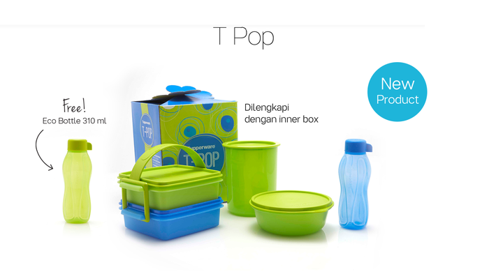 Tupperware T-Pop